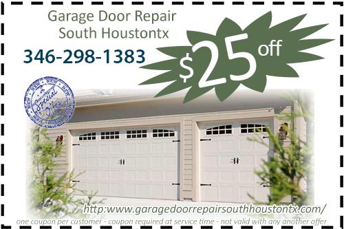 Garage Door Repair South Houston TX Coupon